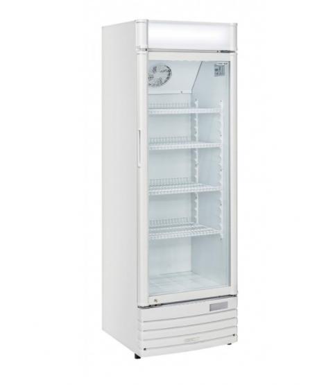 Armoire Réfrigérée Positive Blanche avec Porte Vitrée - 350 L - AFI Collin Lucy