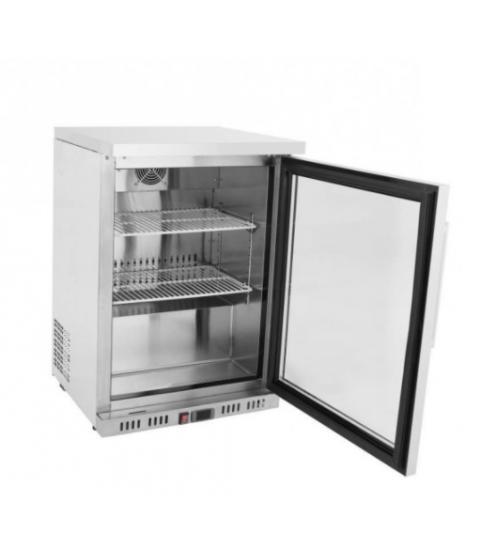 Mini Armoire Réfrigérée Positive Vitrée - 145 L - Atosa