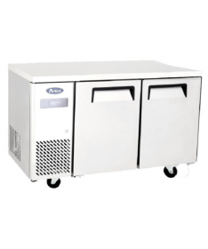 Table Réfrigérée Négative à roulettes 270 L - 2 Portes - Atosa