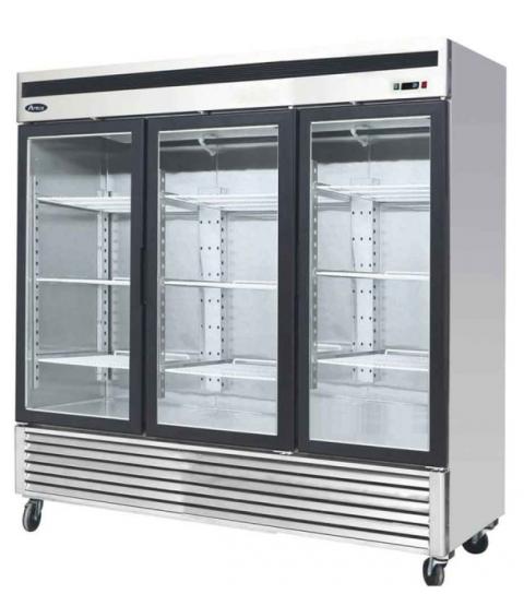 Armoire Réfrigérée Positive 3 Portes Vitrées - 2050L - Atosa