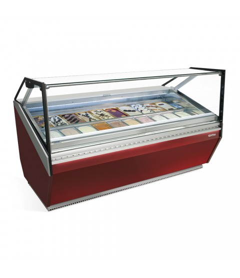 Vitrine d'exposition pour glace serie corial - INFRICO