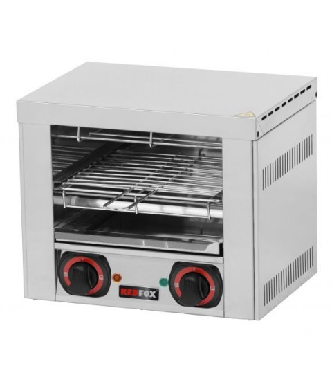 Toaster professionnel - 2 sandwiches - 1 etage - REDFOX