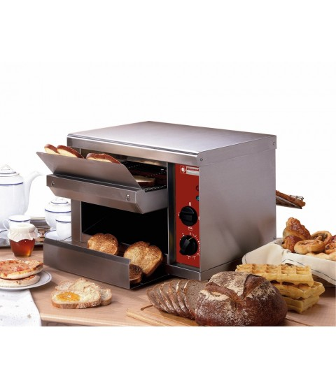 Toaster professionnel automatique - 540 toast/Heure - DIAMOND