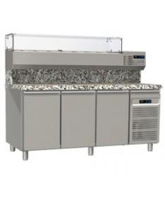 Tables réfrigérées pâtissières grille - 60*40 trois portes
