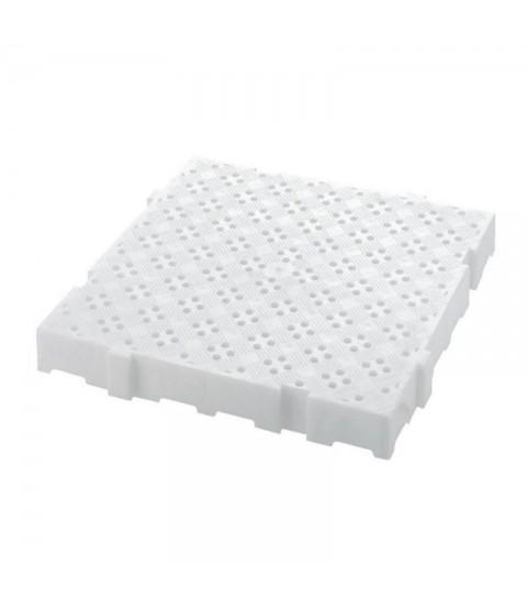 Caillebotis Clipsables Anti-dérapants - Blanc - L2G
