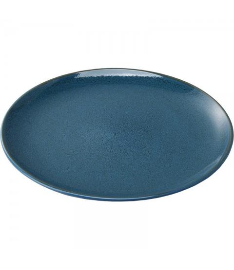 Assiette Plate Porcelaine Bleue Diamètre 200 mm - Stalgast
