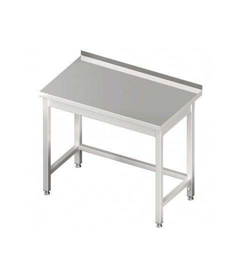 Table Inox sans étagère