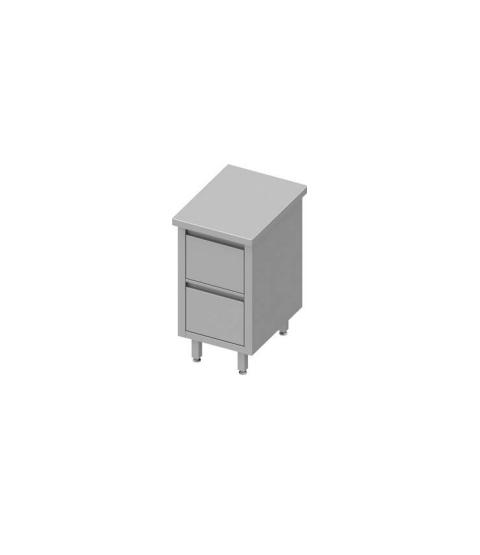 Armoire de travail avec deux tiroirs