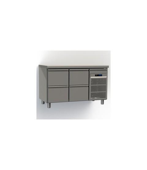 Table réfrigérées 4 tiroirs GN1/1 profondeur 70 avec meilleur prix