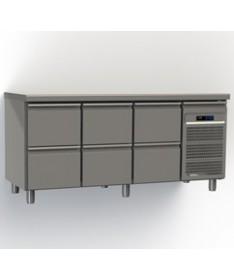 Table réfrigérée 6 tiroirs