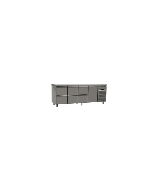 Table réfrigérée 6 tiroirs et 1 porte avec meilleur prix