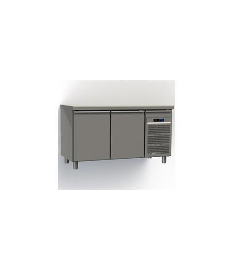 Table réfrigérée 2 portes GN2/1 profondeur 70 avec meilleur prix