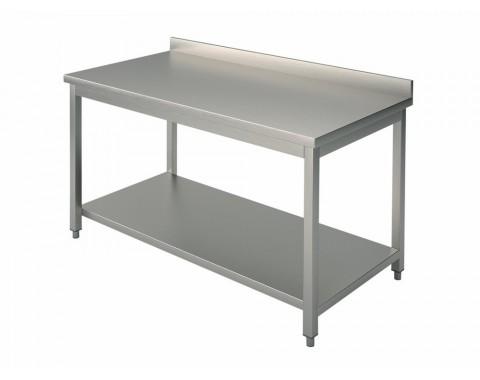 Table inox de travail