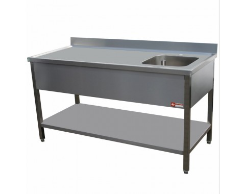 Table de chef inox